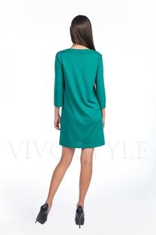 Платье однотонное 20120-7