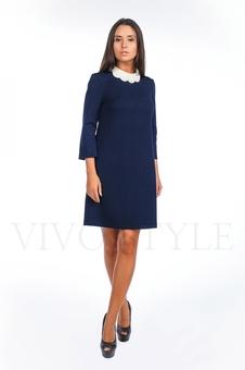 Платье однотонное 20120-8