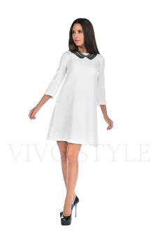 Платье однотонное 20120-1