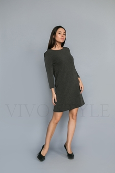 Платье однотонное 20120-9