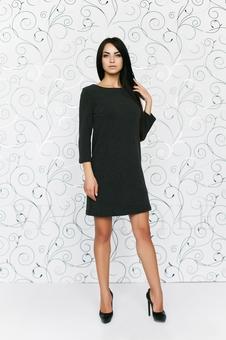 Платье однотонное 20120-10