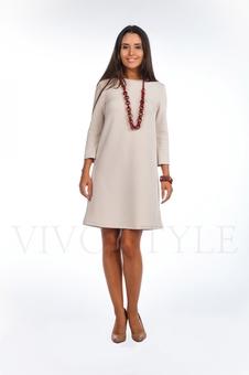 Платье однотонное 20120-6