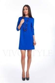 Платье однотонное 20120-5