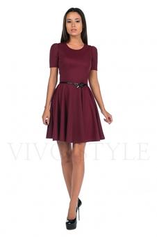Платье с юбкой солнце 20125-2