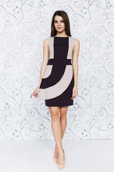 Оригинальное женское платье 20143-3