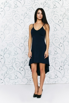 Платье с красивым декольте 20145-7