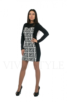 Платье с длинным рукавом 20152-1