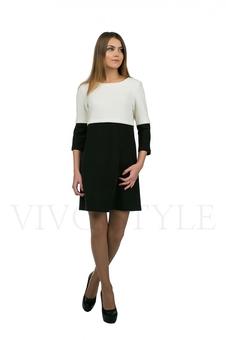 Платье с необычным верхом 20154-1