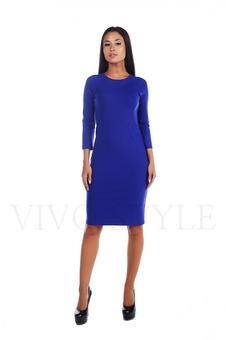Простое женское платье миди 20156-5