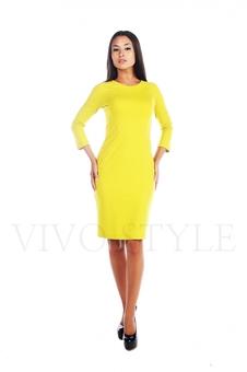 Простое женское платье миди 20156-6