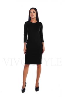 Простое женское платье миди 20156-2