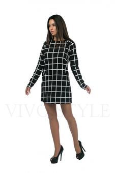 Платье расширенное к низу 20157-2