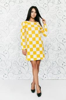 Платье расширенное к низу 20157-6