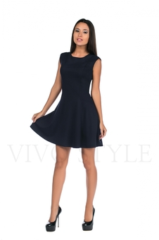 Платье женское со спущенным рукавом 20158-3