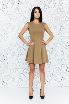 Платье женское со спущенным рукавом 20158-4