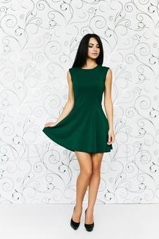 Платье женское со спущенным рукавом 20158-5