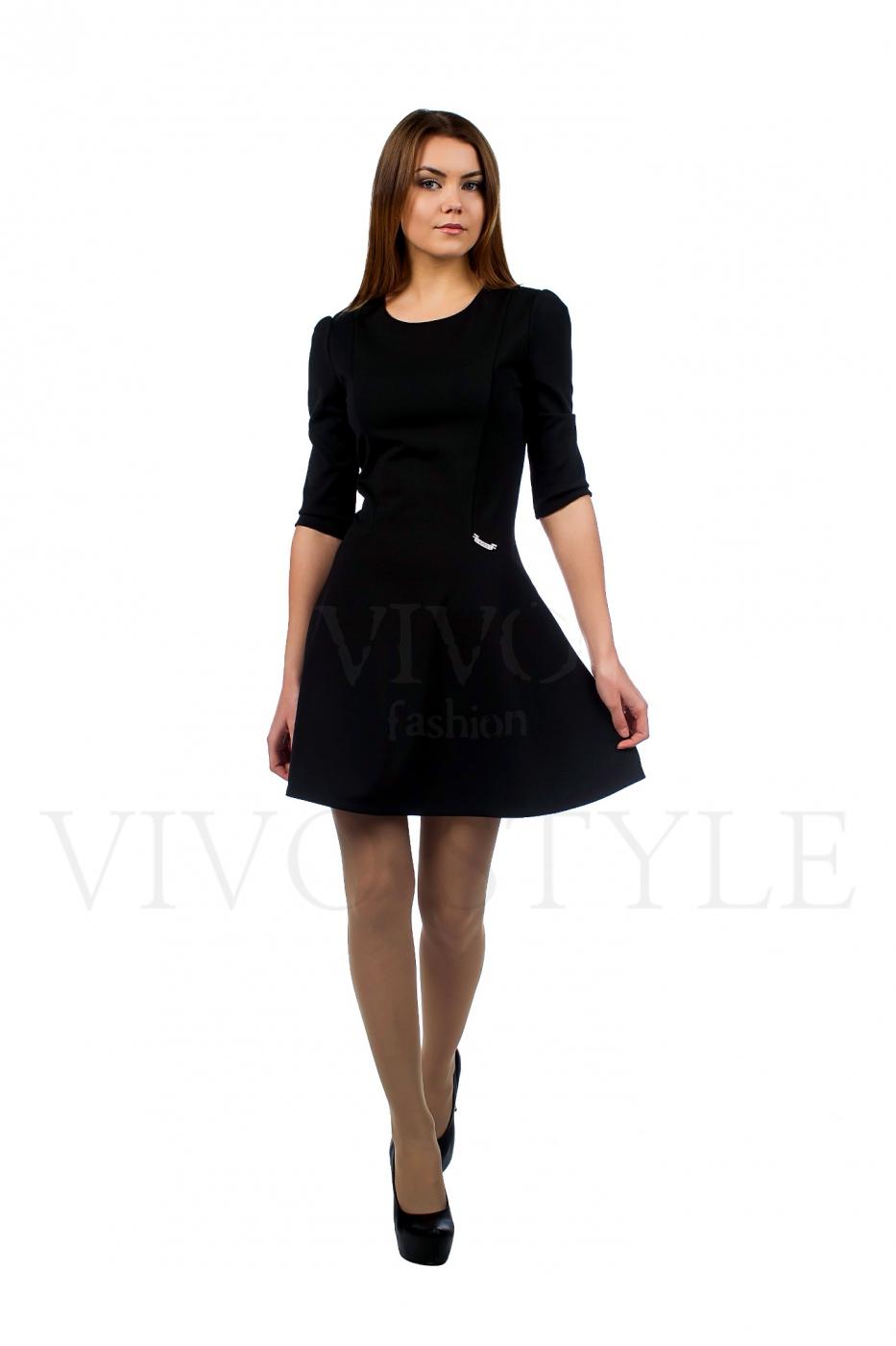 Черные молодежные платья