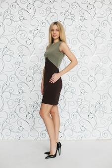 Элегантное платье 20172-4