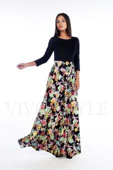 Платье в пол 20179-1