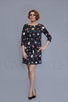 Женское короткое платье 20209-1