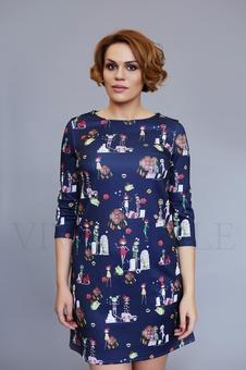 Женское короткое платье 20209-2