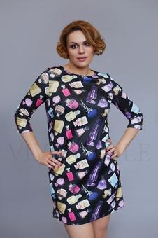 Женское короткое платье 20209-3