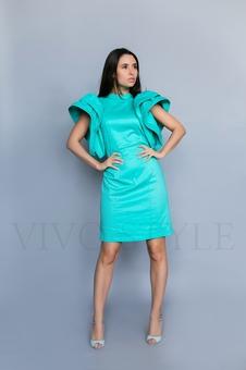 Экстравагантное женское платье 20231-2