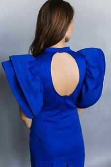 Экстравагантное женское платье 20231-4