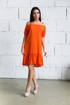 Женское платье с оголенными плечами 20236-4