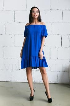 Женское платье с оголенными плечами 20236-5