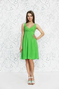 Платье в романтическом стиле 20238-4