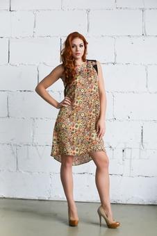 Строгое женское платье 20251-1