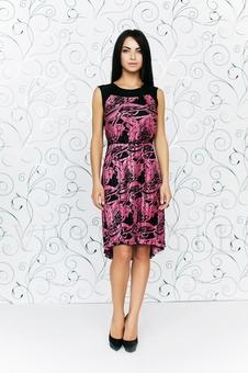 Строгое женское платье 20251-2