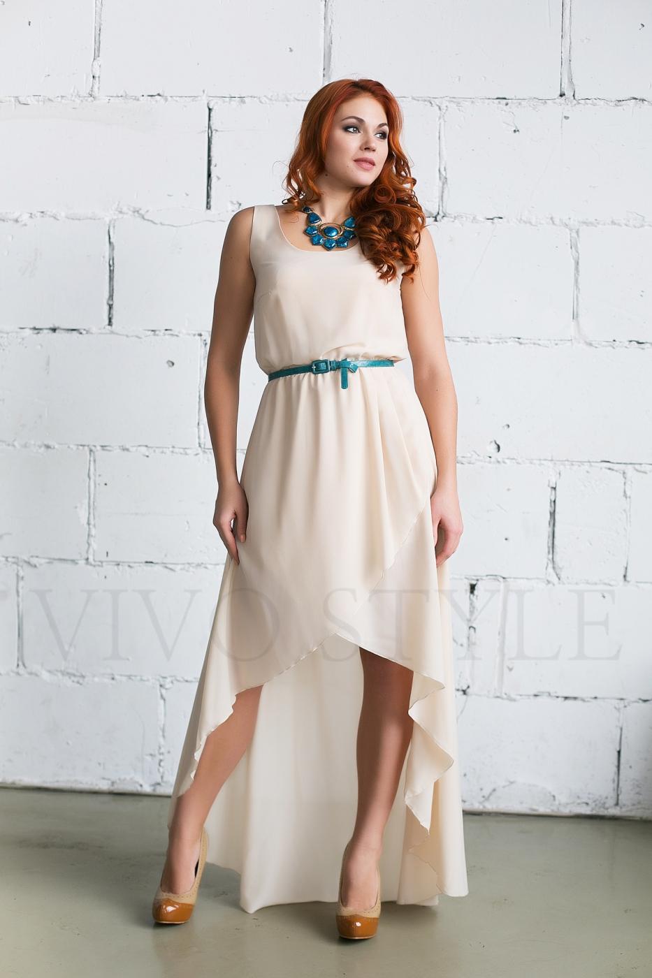 Необычное летнее платье
