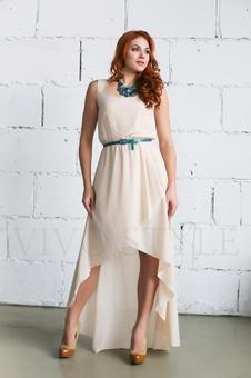 Необычное летнее платье 20252-1