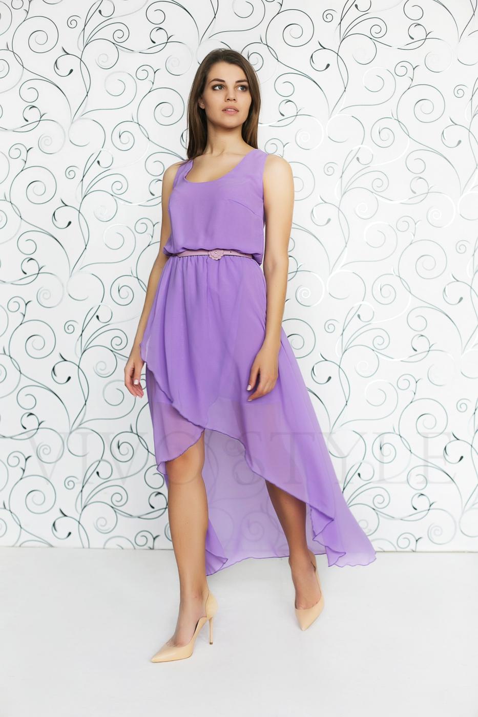летнее открытое платье