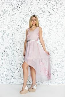 Необычное летнее платье 20252-4