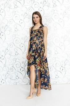 Необычное летнее платье 20252-5