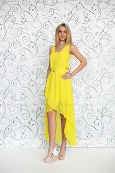 Необычное летнее платье 20252-6