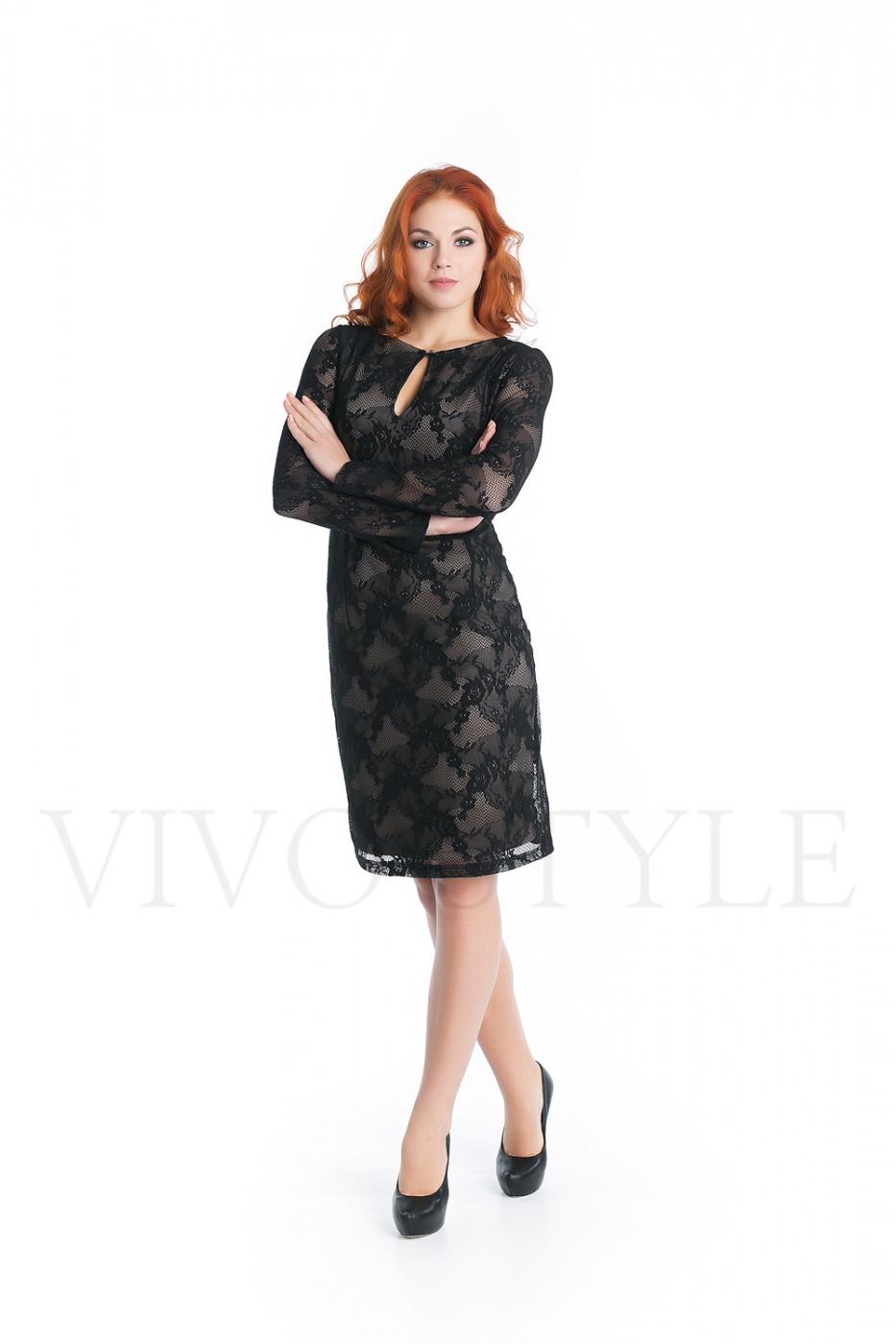 демисезонное нарядное платье