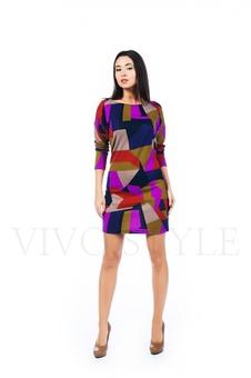 Женское платье с оригинальным рисунком 20263-2