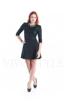 Женское платье с гипюром 20275-1