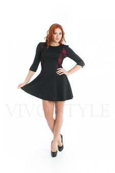 Женское платье с гипюром 20275-2