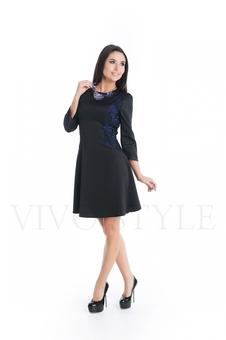 Женское платье с гипюром 20275-3