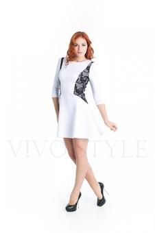 Женское платье с гипюром 20275-5