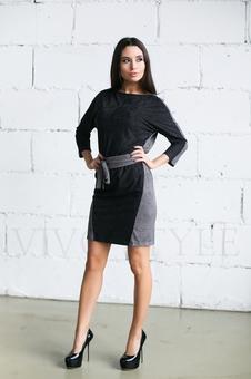 Платье женское с поясом 20276-5