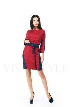 Платье женское с поясом 20276-1