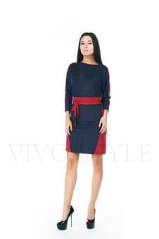 Платье женское с поясом 20276-2