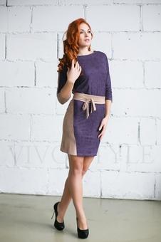 Платье женское с поясом 20276-7