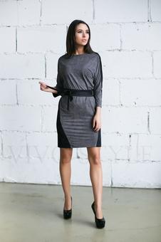 Платье женское с поясом 20276-8